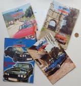 4 Stag Owners Club magazines 2000 2002 classic car Triumph bundle M vintage